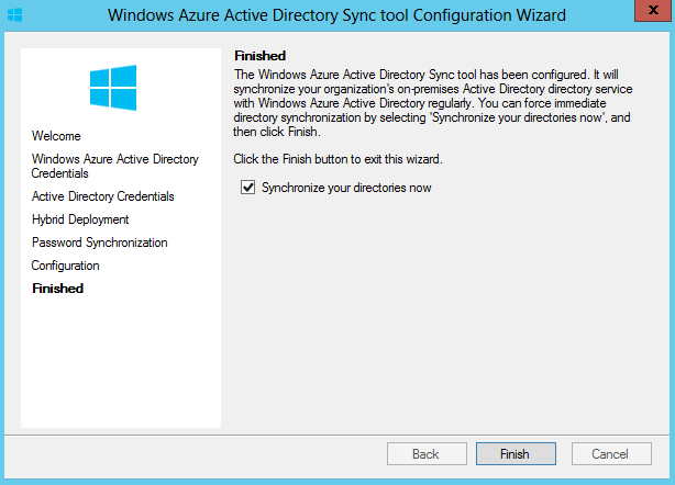 Synchronize Active Directory
